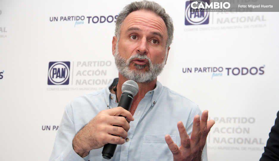 PAN municipal apoya la moción de revocar mandato a Claudia Rivera