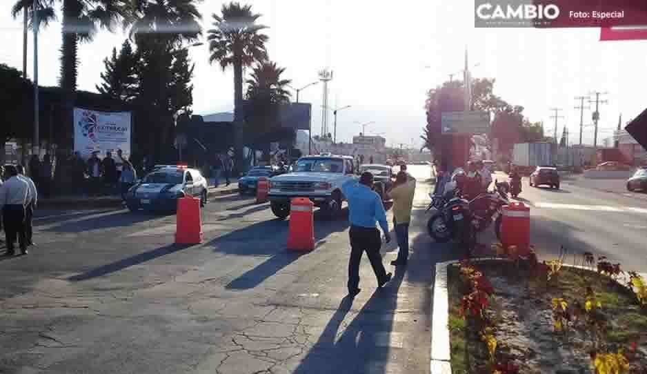 Linchan a un ladrón de taxis y golpean a su cómplice en San Martín Texmelucan
