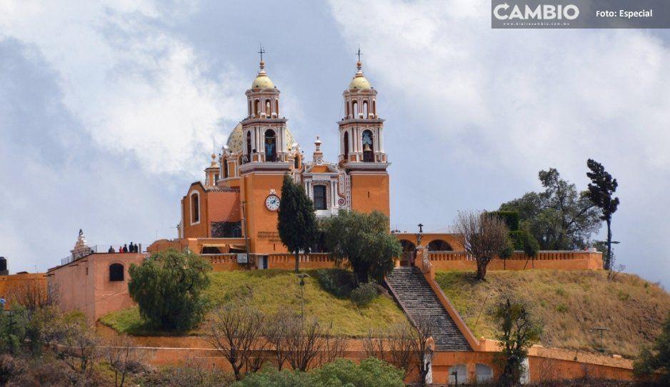 Mientras Arriaga vacaciona en Cuba, cierran el santuario de Los Remedios tras caída de rayo