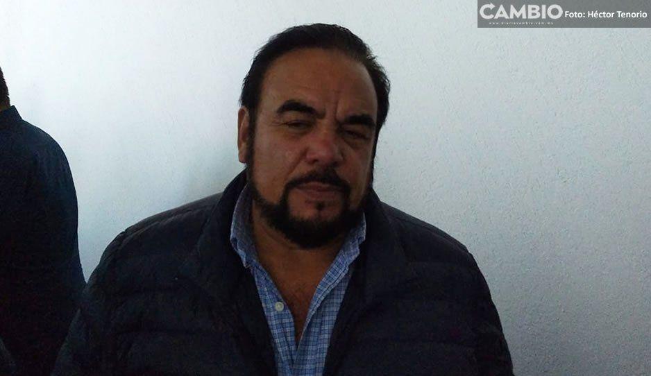 Líder tianguista de Texmelucan acusa al presidente de la Canaco de no trabajar para regular el comercio