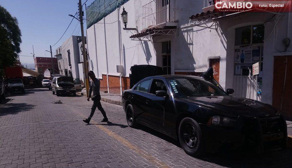 Levantan a trabajador de la CFE para robarle su camioneta en Tecamachalco