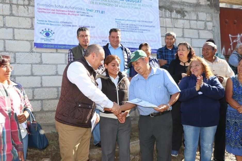 Invierte Guillermo Velázquez más de 7 millones de pesos en obras para el desarrollo de colonias con alta población