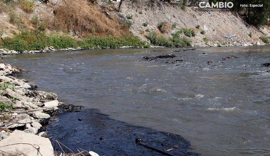 70 familias de Teotlalcingo en zona de riesgo por el río Atoyac