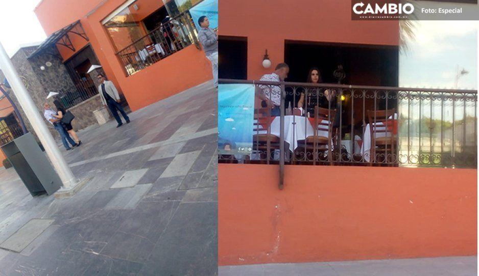 La inseguridad aumenta en Texmelucan mientras que Norma Layón se pasea con su pareja en La Paz (FOTOS)