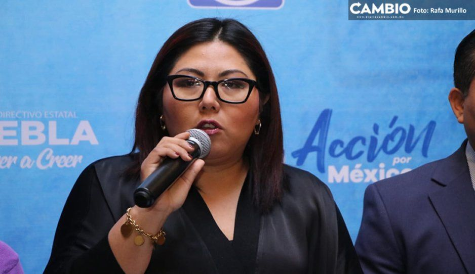 Genoveva justifica los pocos afiliados al PAN: INE aún no tiene el corte final