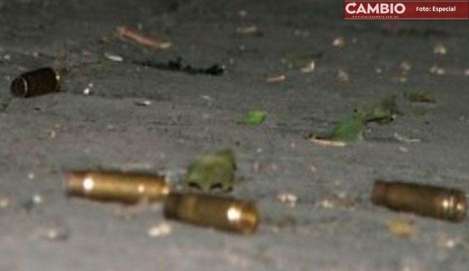 Ante balacera en Moyotzingo, Seguridad Pública ¡brilla por su ausencia! y no se presenta