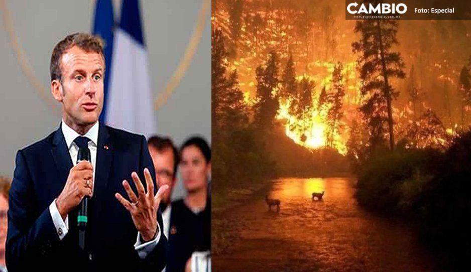 Francia acorrala a Brasil por incendios en el Amazonas: se apondrá al acuerdo UE-Mercosur