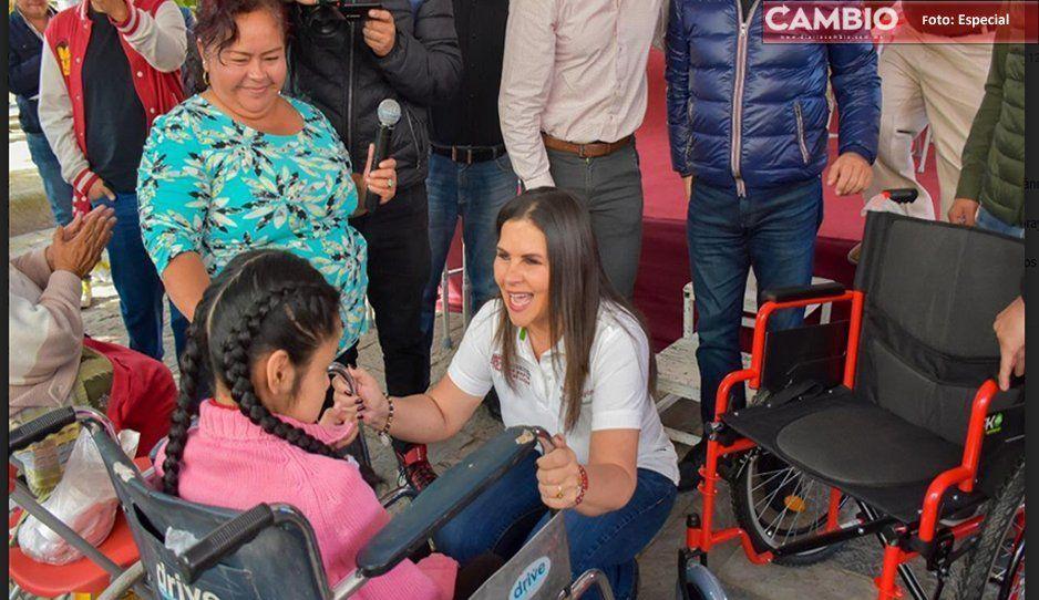 Vibra Texmelucan beneficiará a los más desprotegidos: Norma Layón