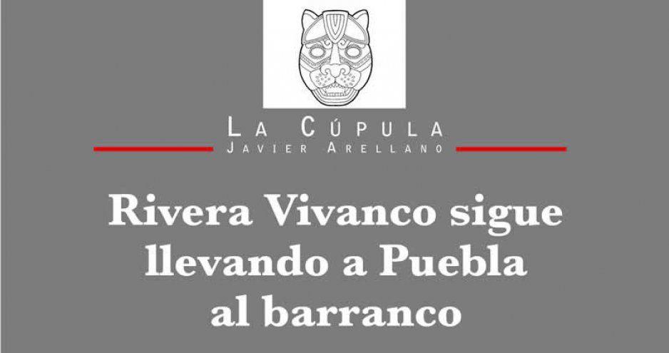 Rivera Vivanco sigue llevando a Puebla al barranco