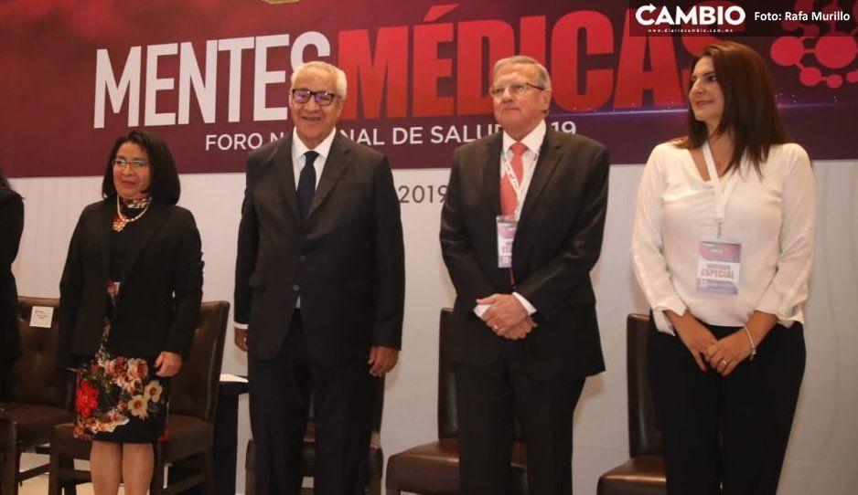 Inauguran Pacheco Pulido y Lucía Ojeda el Foro Nacional de Salud 2019 Mentes Médicas