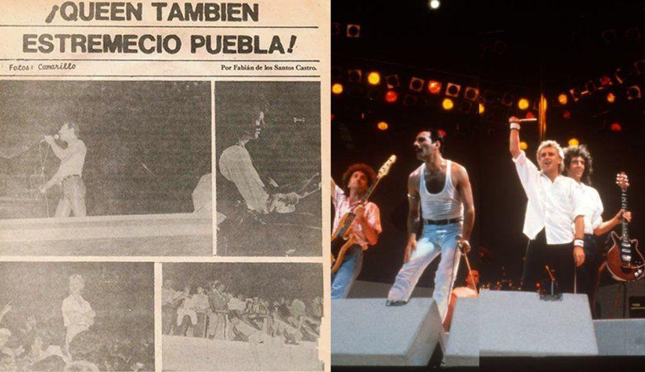 Hace 38 años Queen dio un concierto en el estadio Zaragoza...y los poblanos los rechiflaron