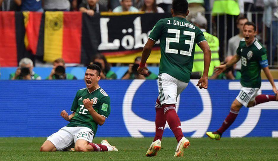 Hoy hace un año México vencía a Alemania en el mundial de Rusia 2018