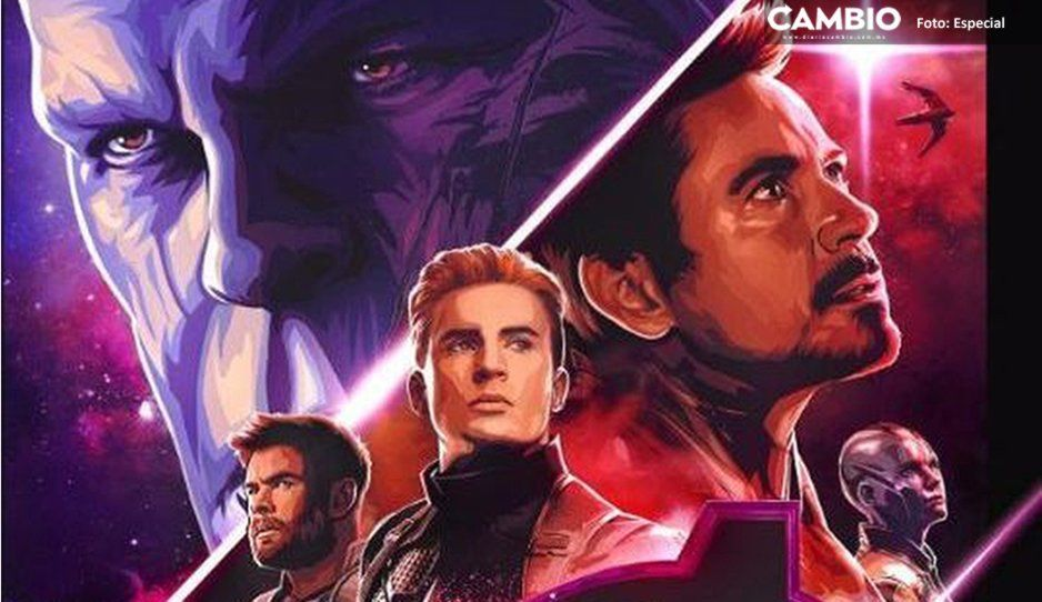 Revelan la duración exacta de Avengers: Endgame ¡No son 3 horas y 2 minutos!