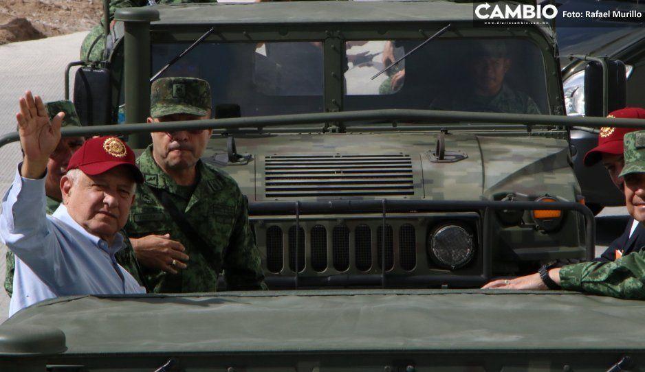 Drogas de narcolaboratorio asegurado en Tehuitzingo son veneno puro: AMLO