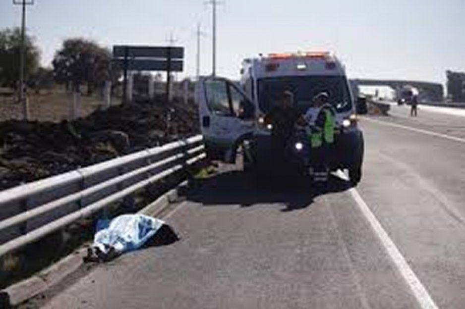 Muere hombre arrollado en la Puebla- Veracruz en Palmar de Bravo