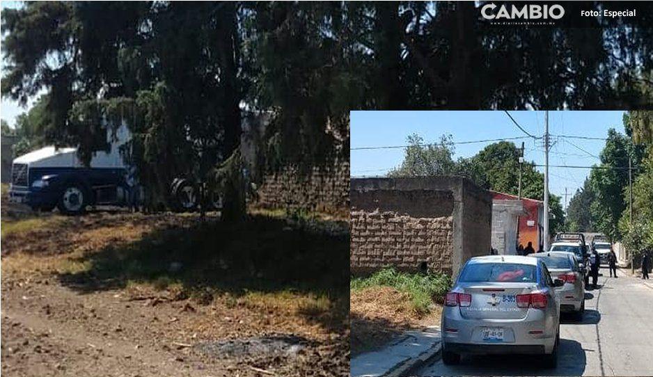 Balacera deja como saldo dos detenidos y un tracto camión recuperado en Tlaltenango