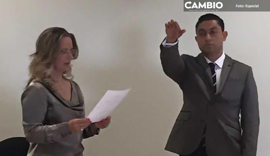 Edgar Salomón busca candidatura a alcaldía de Texmelucan en 2021 pese a sus escándalos