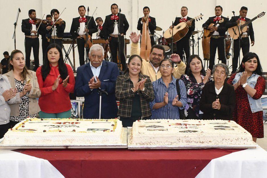 Alcaldesa Lupita Daniel celebra Día del Abuelo en Cuautlancingo