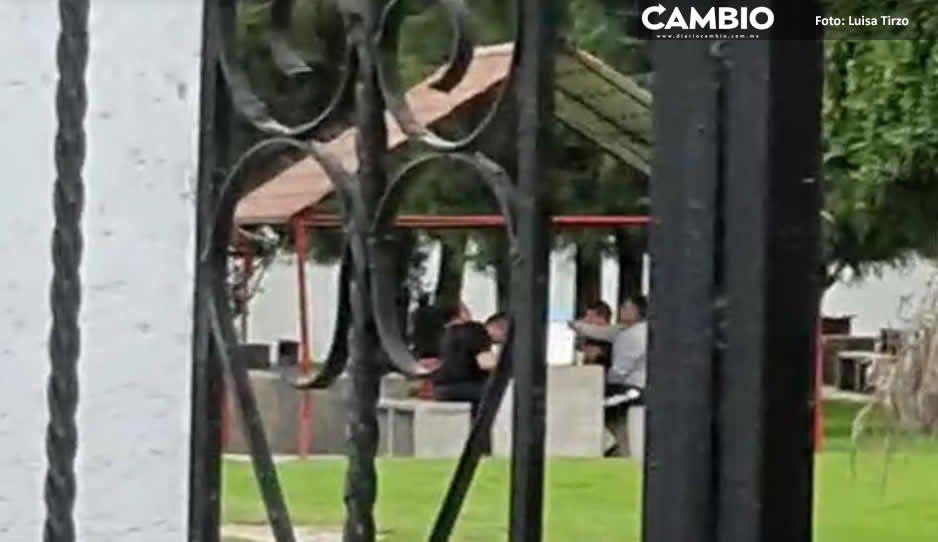 Cachan a polis de San Andrés en plena  borrachera mientras arde inseguridad
