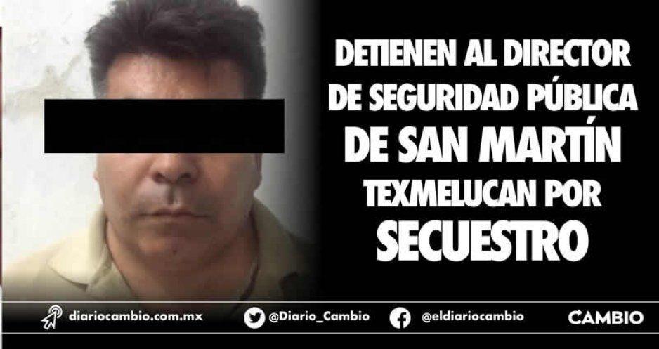 Detienen por secuestro a director de Seguridad Pública de Texmelucan (VIDEO)