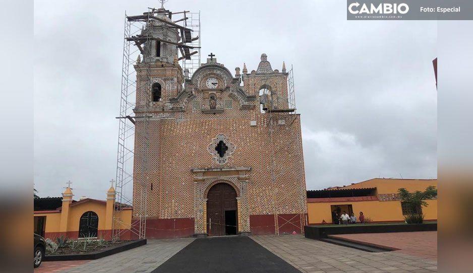 Entregan capilla temporal en Atlixco tras sismo del 19S