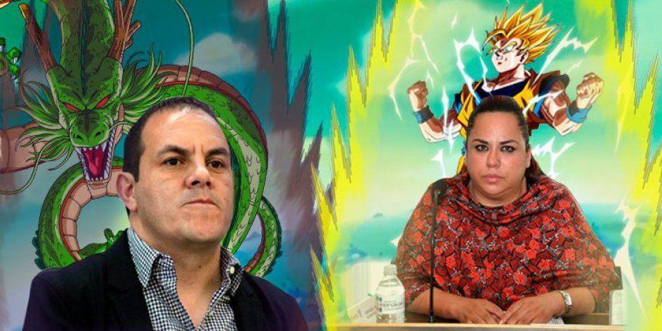 Diputada a Cuauhtémoc: No temo amenazas, soy amiga de Gokú (VIDEO)