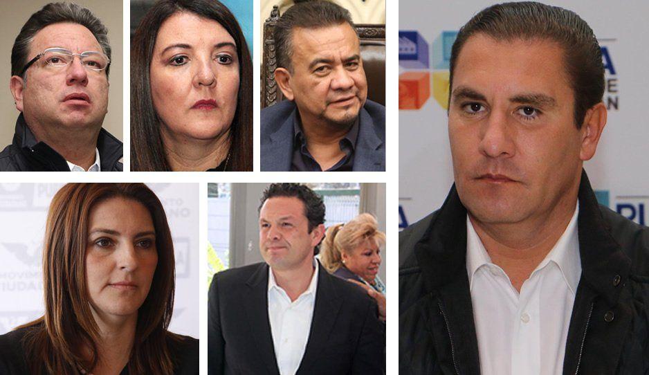 Moreno Valle entregó notarías a Eukid, Trauwitz, Rincón, Maiella y Sobrado a través de estos prestanombres