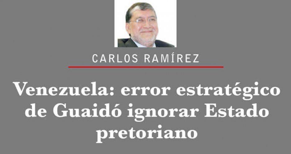 Venezuela: error estratégico de Guaidó ignorar Estado pretoriano