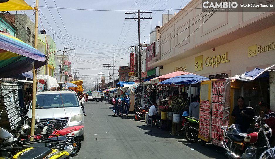 Federación de Comerciantes de Texmelucan anuncia marcha en Puebla capital
