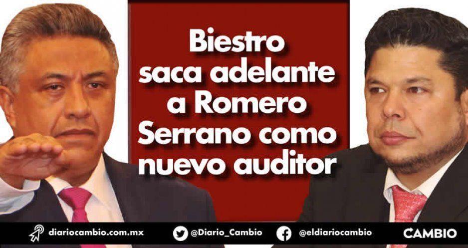 Biestro saca adelante a Romero Serrano como nuevo auditor
