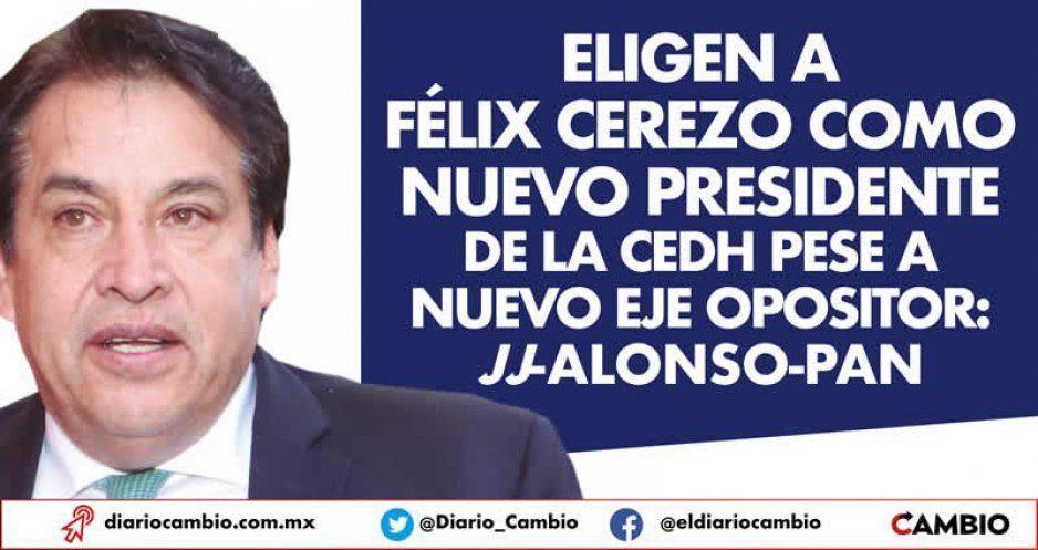 Eligen a Félix Cerezo como nuevo presidente de la CEDH pese a nuevo eje opositor: JJ-Alonso-PAN (VIDEOS)