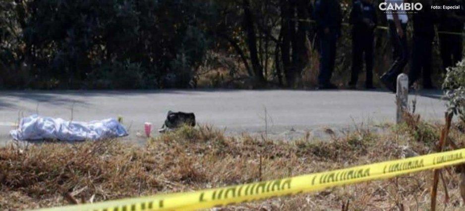 Menor de edad muere tras ser atropellado en Chignautla