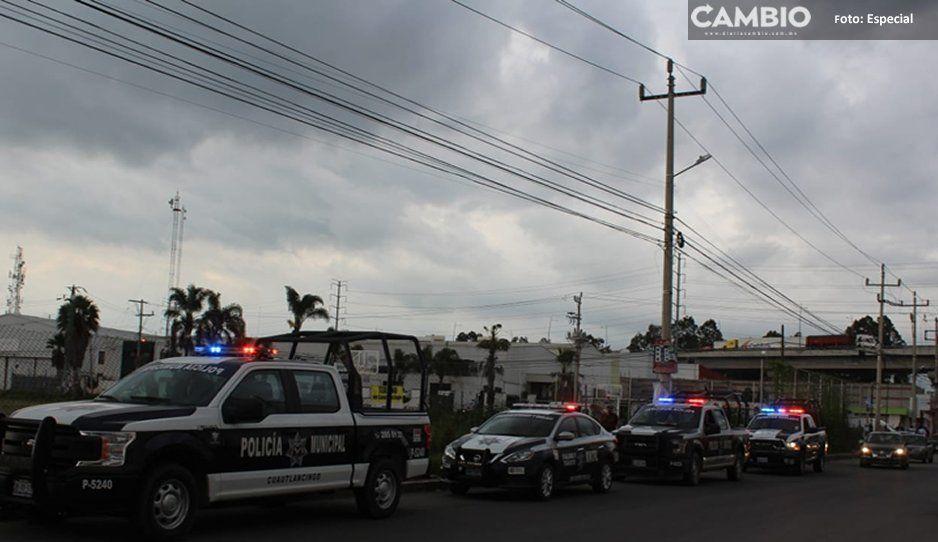Realiza Grupo de Coordinación Territorial para la Construcción de la Paz operativos de seguridad en Cuautlancingo