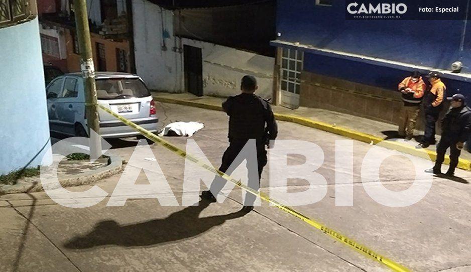 Acribillan con más de 20 disparos a El Vaca en Teziutlán