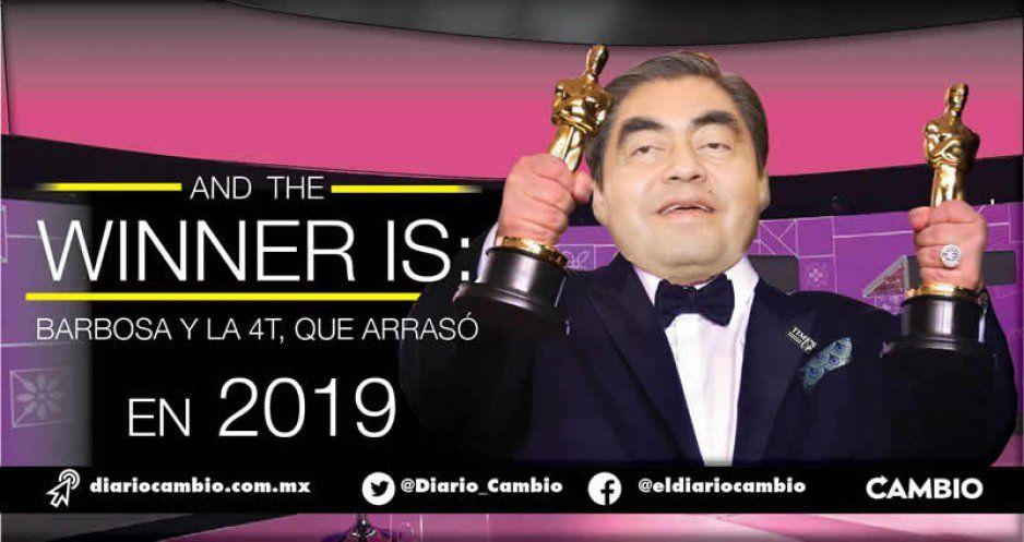 And the winner is: Barbosa y la 4T, que arrasó en 2019