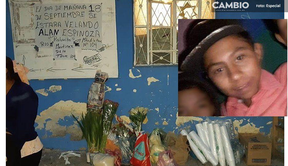 Padre recluido pide permiso para asistir al funeral de su hijo adolescente muerto en Atlixco
