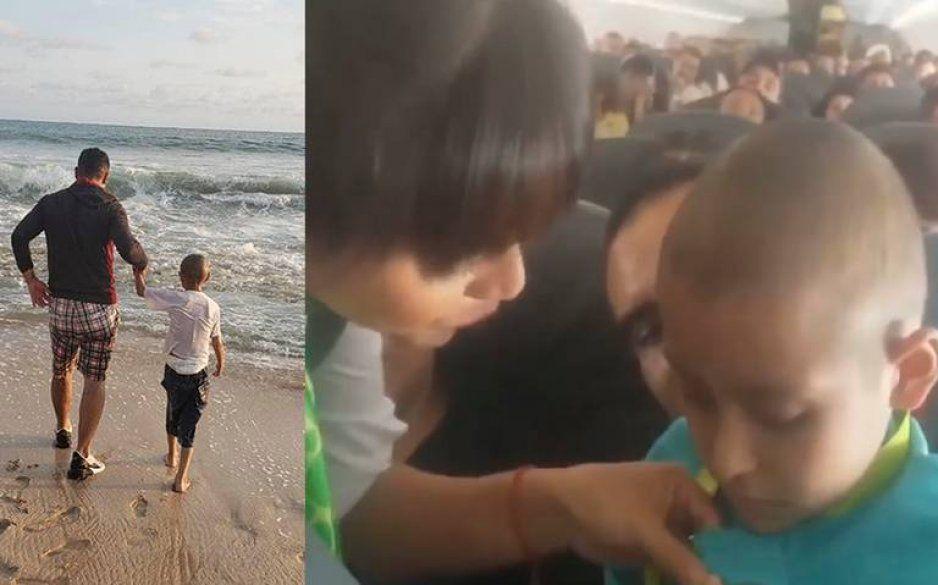 VIDEO: Viva Aerobús cumple sueño de niño con cáncer y lo lleva al mar