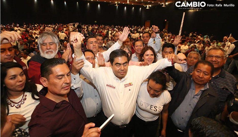 Promete Barbosa someter a consulta el aumento de tarifa al transporte público y la creación de líneas RUTA