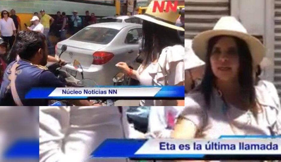 Norma Layón regaña a motociclistas sin casco y los pone en orden en Texmelucan (VIDEO)