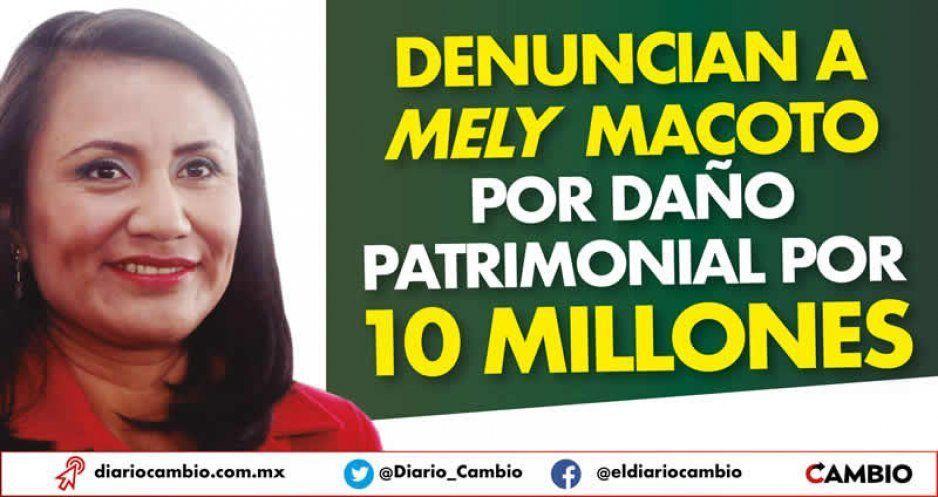 Denuncian a Mely Macoto por daño patrimonial por 10 millones