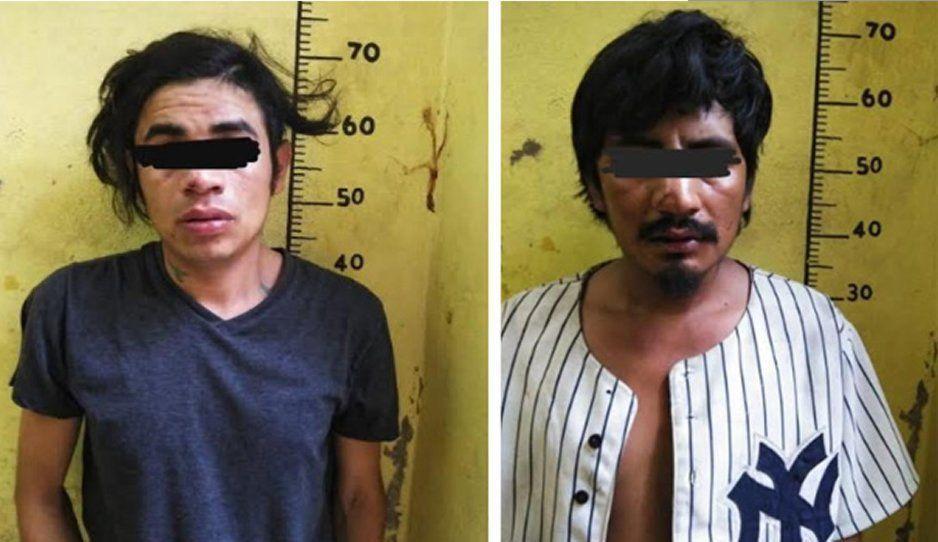 Detienen a dos narcomenudistas en Izúcar de Matamoros