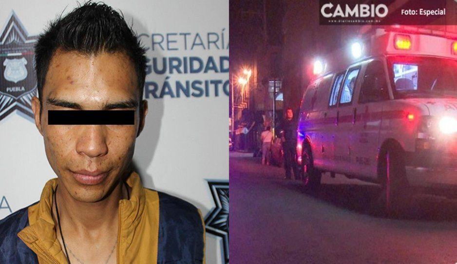 Detienen a un hombre tras lesionar en plena borrachera a un familiar en el barrio de La Luz
