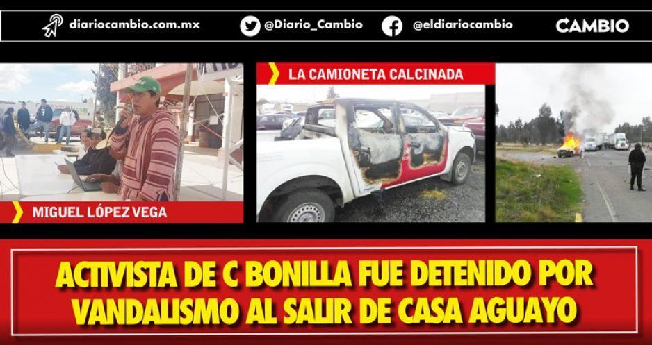 "Crece polémica por detención de ""activista"" que incendió camioneta  (VIDEO)"