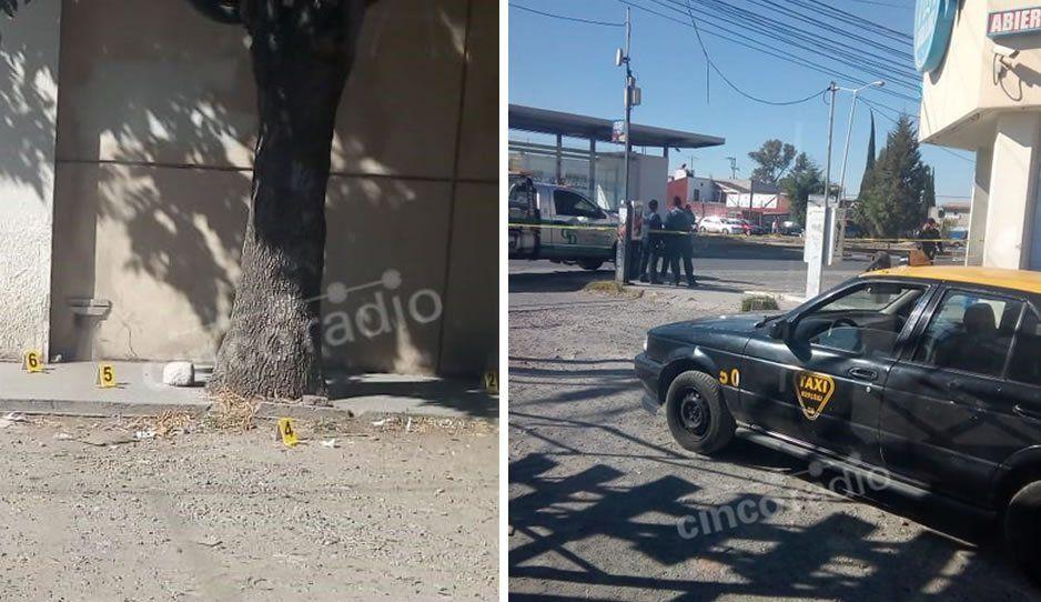 Confirman balacera en la 11 Sur: cliente de Farmacia Guadalajara dispara contrasujetos que querían atracarlo (VIDEO)