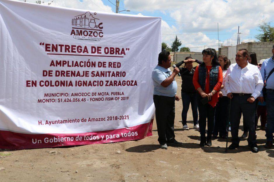 Colonia Ignacio Zaragoza contará con más  drenaje pluvial en Amozoc: Mario de la Rosa