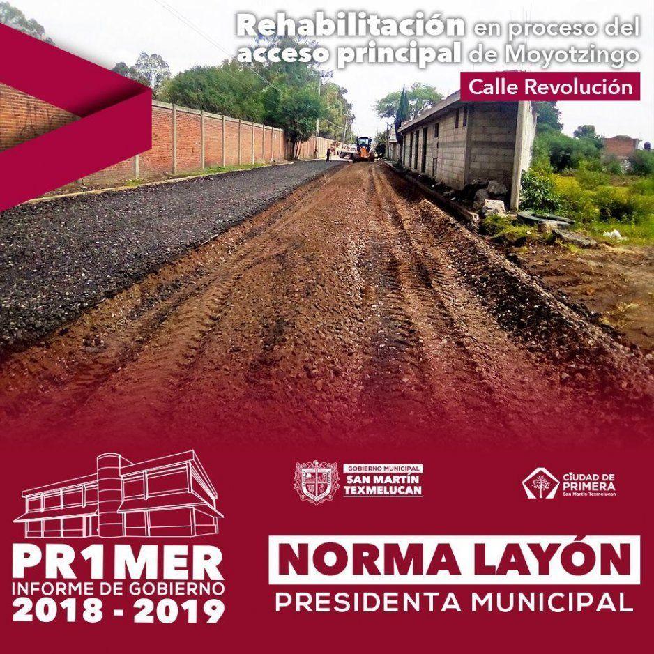 Norma Layón muestra logros de cara a su primer informe de Gobierno en Texmelucan