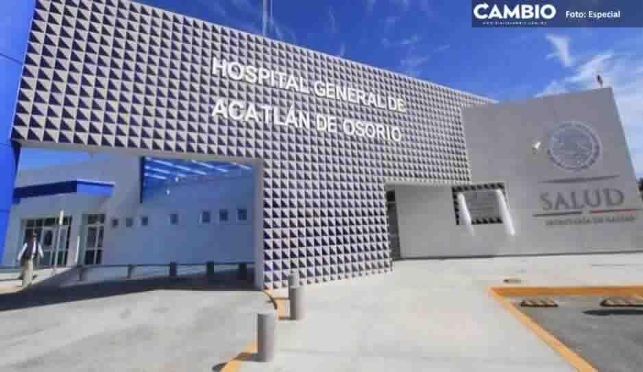 Sindicalizados del Hospital General de Acatlán de Osoriorealizan paro laboral; exigen más médicos y medicamentos
