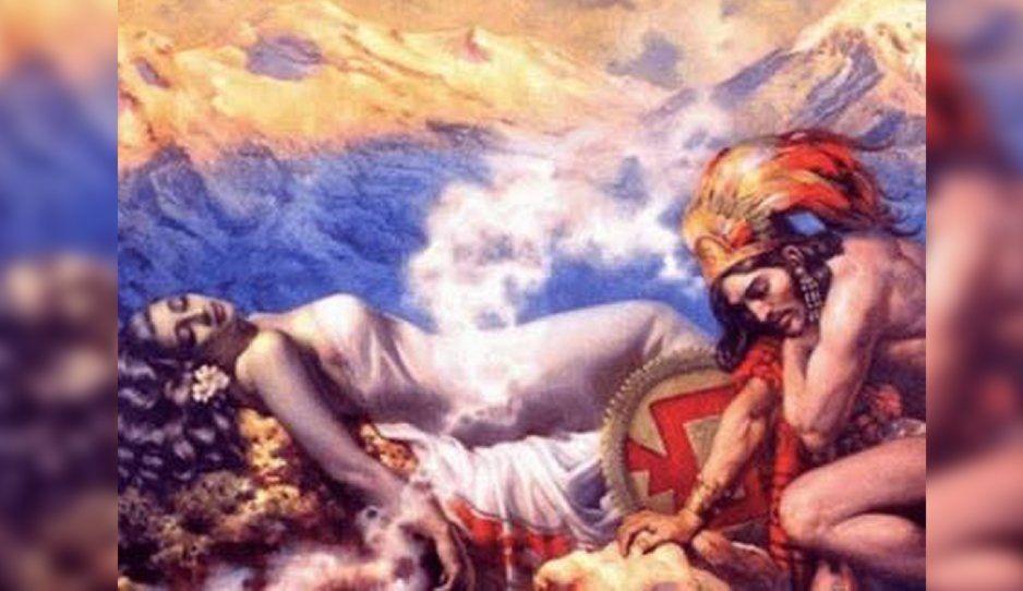 Popocatépetl e Iztaccíhuatl: Conoce la leyenda de estos amantes milenarios