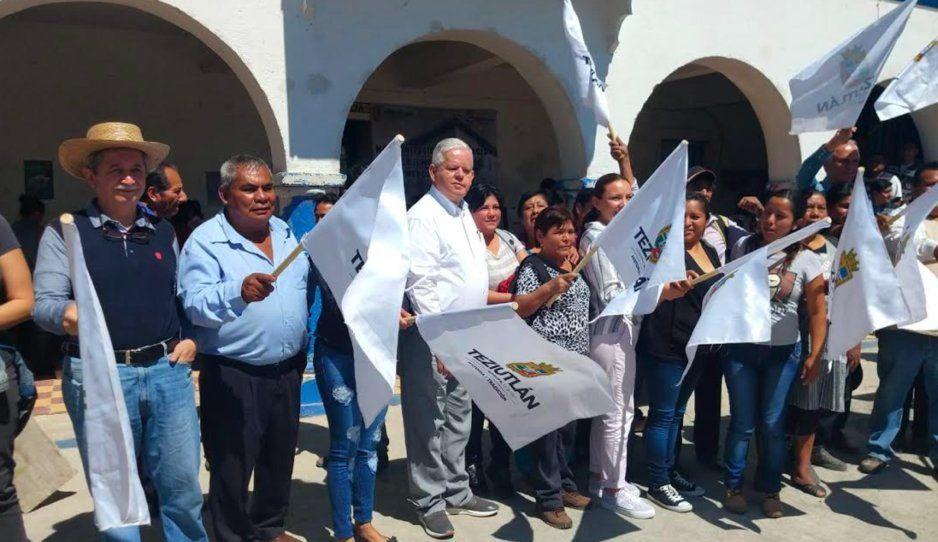 Inicia remodelación del palacio de gobierno en la Junta Auxiliar de Mexcalcuautla en Teziutlán