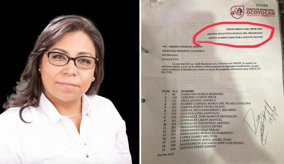 Acusan de autoritarismo y abandono de beneficiarios a ex presidenta del DIF en Ocoyucan